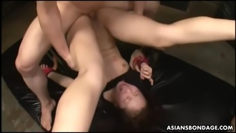 infirm ai mizushima gets fisted and defeated very difficult by her gurus