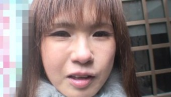 Japanese people MILF with nice tits storage sheds her winter period choose to have fucked