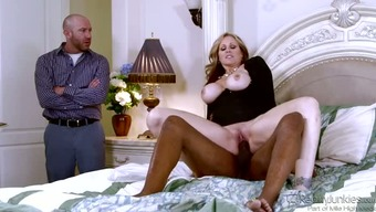 Big tits harlot wifey excursions greater hunk repeal cuckold sex clip