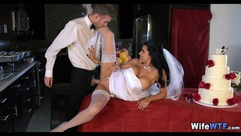 Bride to be receives a Fat Cock