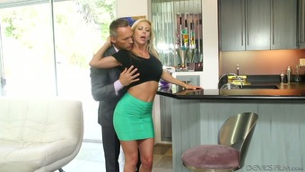 Prick wild MILF Alexis Fawx never leaves her hubby's needs unlooked after