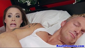 Housewife assfucked through a brunette thief