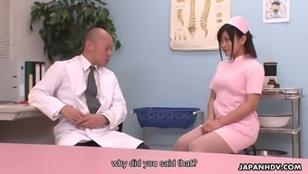 Lovely healthcare provider Aika Hoshino is getting down and grimy with her physician