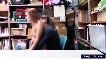 Teen shoplifter and her mother defeated very difficult by foul LP official