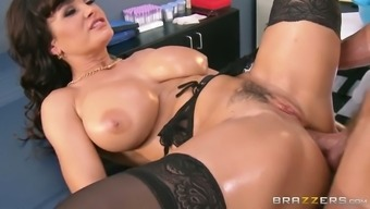 Oversexed blond milf gets her cunt fucked in puppy and missionary placement