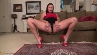 hairy american grow older woman along with fine stupid ass and pussy