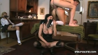 Lusty dark Abbie Kitty can be considered an inexhaustible harlot who might likes thee approach sex