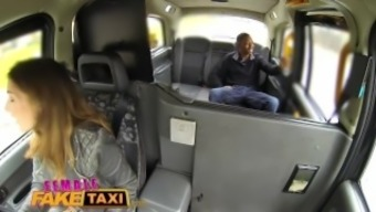 Ladies Very fake Taxi Great dark colored cock stretches beautiful skinny drivers tense hole