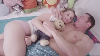 Only just official youngster Alice March is having intercourse with the changed stepdad