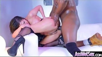 Large Booty Girl (Aleksa Nicole) Get Oiled Over And difficult Analy Nailed On Cam mov-04