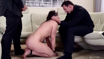 Akasha Cullen can't fight getting fucked with a pair of colossal dicks