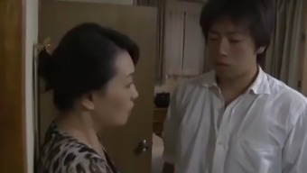 far eastern japanese people guy found his mom's cheating - part2 on hdmilfcam.com
