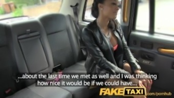 FakeTaxi Taxi rider gets fortunate twofold with super sizzling dame