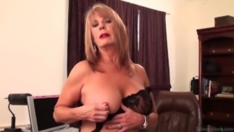 Slutty brown Rae Hart senior would rather have soliciting and fidgeting with her girlie man vid