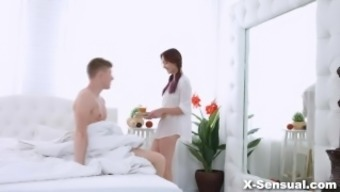 X-Sensual - Brittany Can - Morning cycle to effectively height