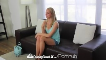 CastingCouch-X - Novice Alli Rae inquires of for getting a dirty skin