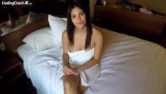 First enlisting video of naughty porno model Purple Starr