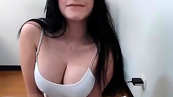 Severely fine major roung boobs Spanish topless mock webcam